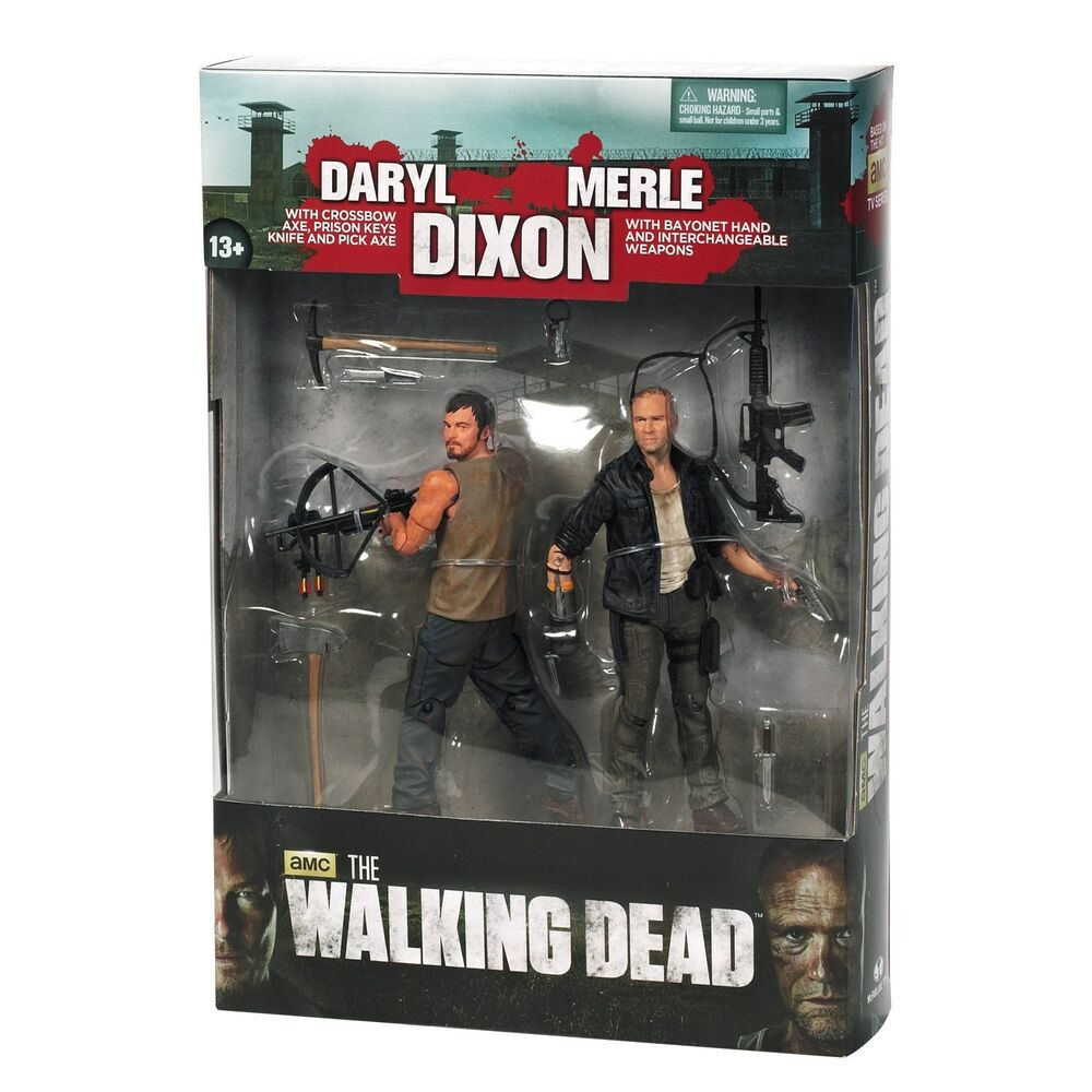Toys For Brothers : Mcfarlane toys the walking dead tv series dixon brother