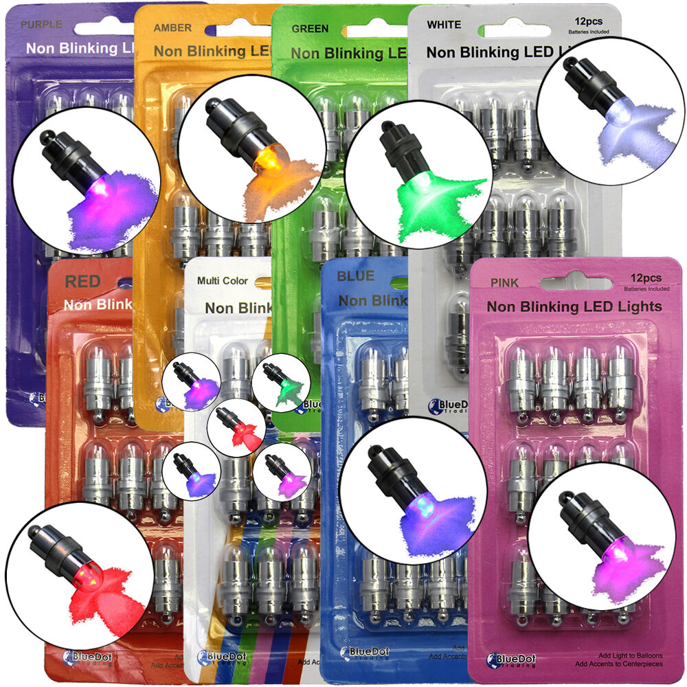 12 SUBMERSIBLE LED Waterproof Balloon Floral Mini Light ...