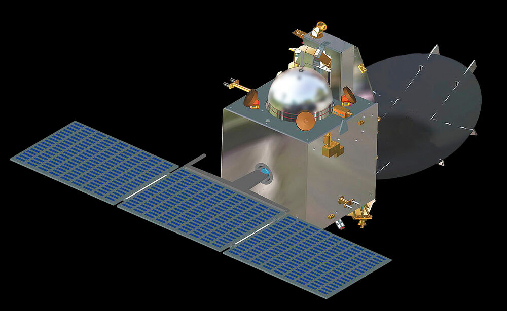 Mom mangalyaan spacecraft model replica small free shipping ebay