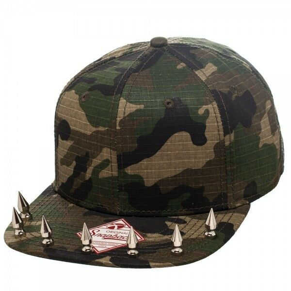 new camo snapback hat mens or womens baseball cap with