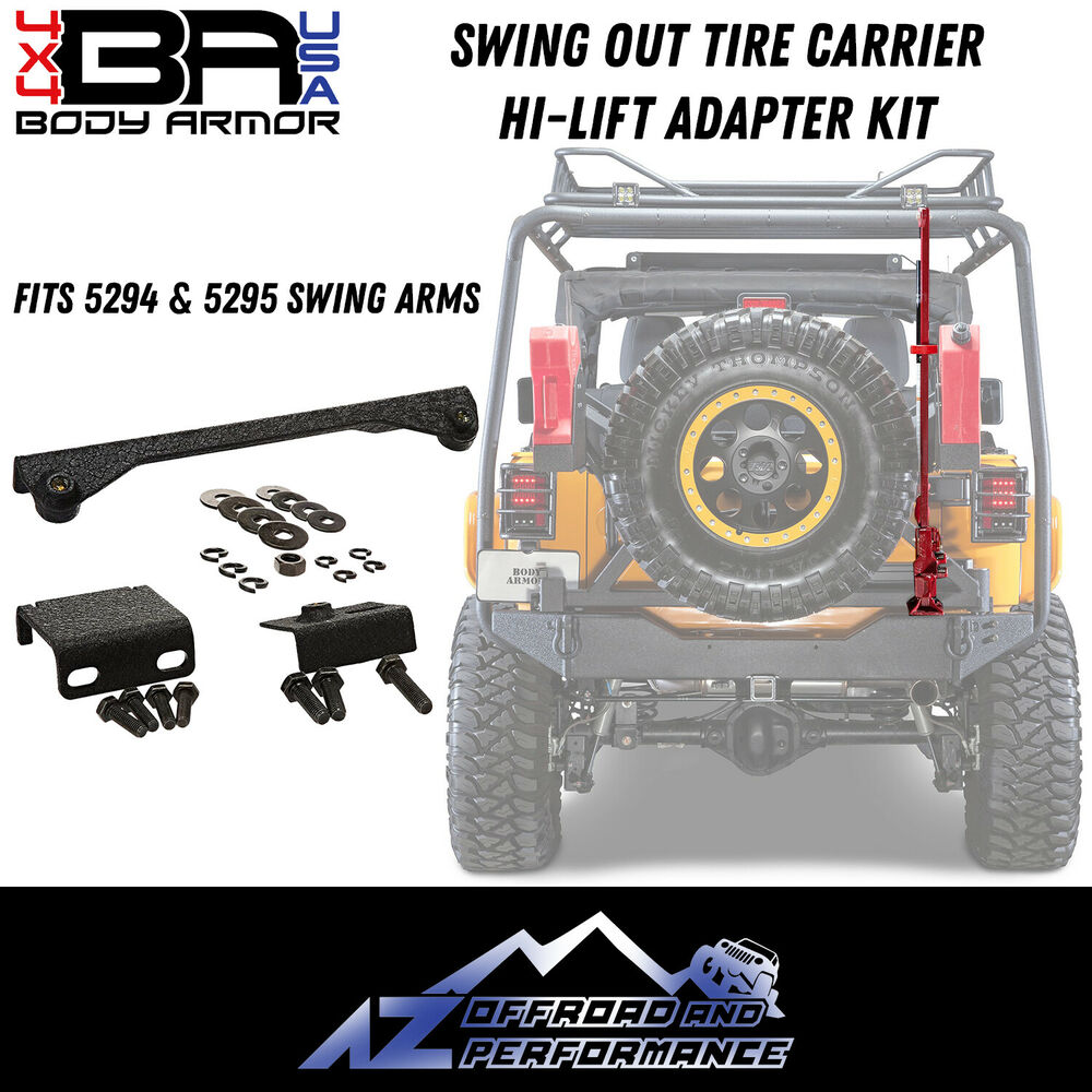 Swing Arm Lift For Pickup : Body armor hi lift jack adapter kit pc jeep