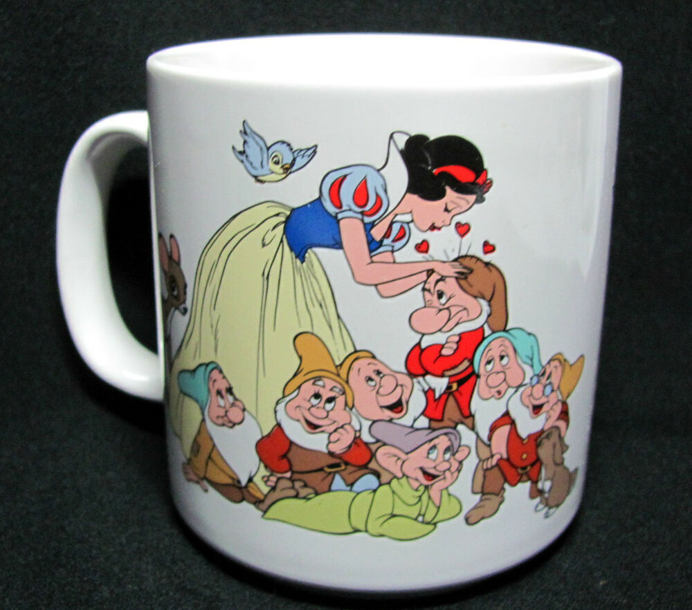 Vintage Applause Disney Snow White Coffee Mug Cup In