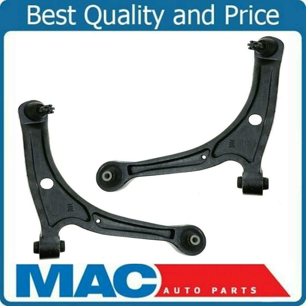 Front Lower Control Arms W/ Ball Joints Pair Set NEW For