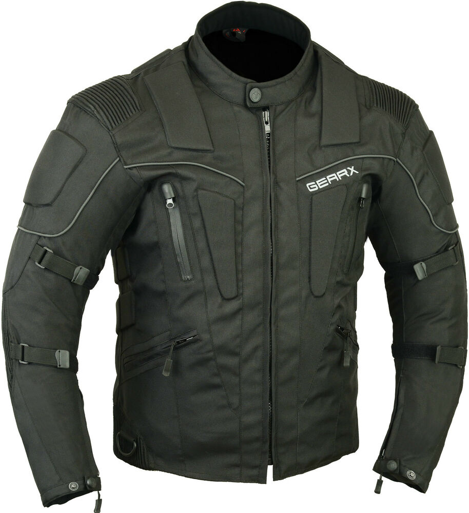 motorcycle jacket motorbike storm waterproof breathable jackets textile mesh xl