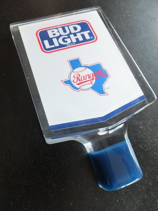 Rare Quot Texas Rangers Quot Beer Tap Knob Handle Budweiser Bud