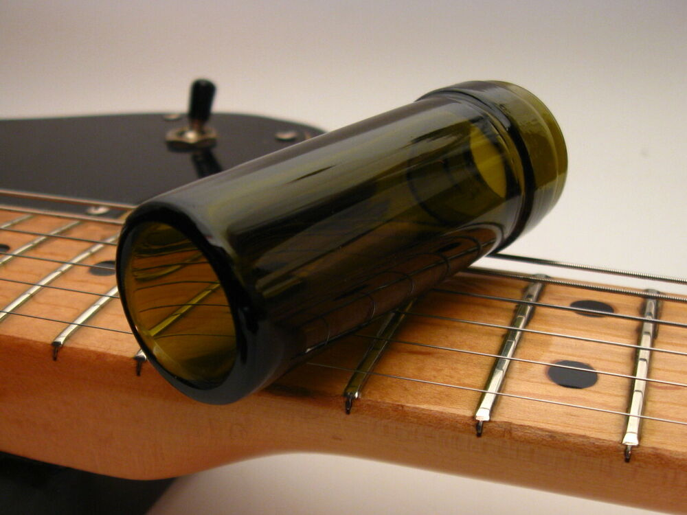 real bottleneck traditional guitar slide custom glass ebay. Black Bedroom Furniture Sets. Home Design Ideas