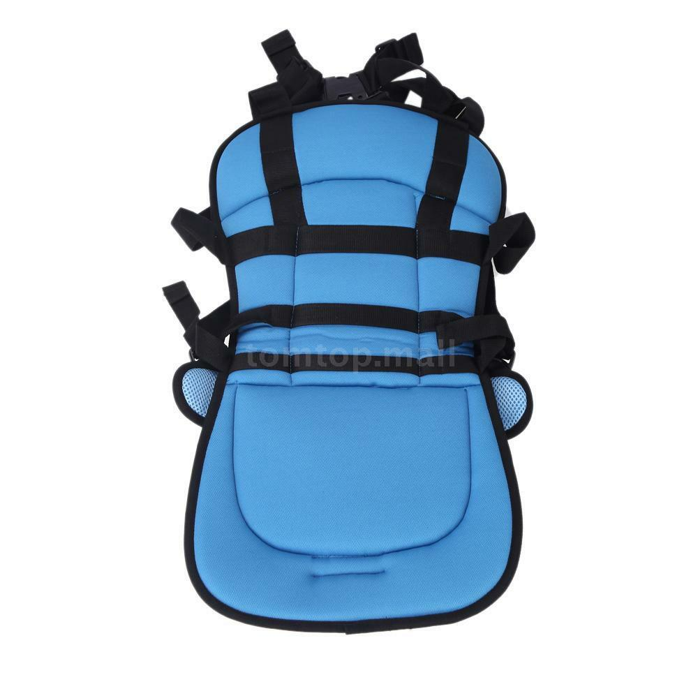 portable safety booster car seat cover cushion harness for baby kid infant child ebay. Black Bedroom Furniture Sets. Home Design Ideas