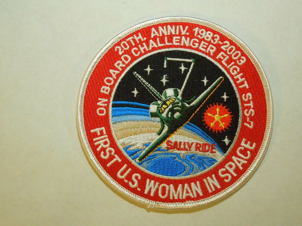 NASA Sally Ride 20th Anniversary Challenger Space Shuttle ...