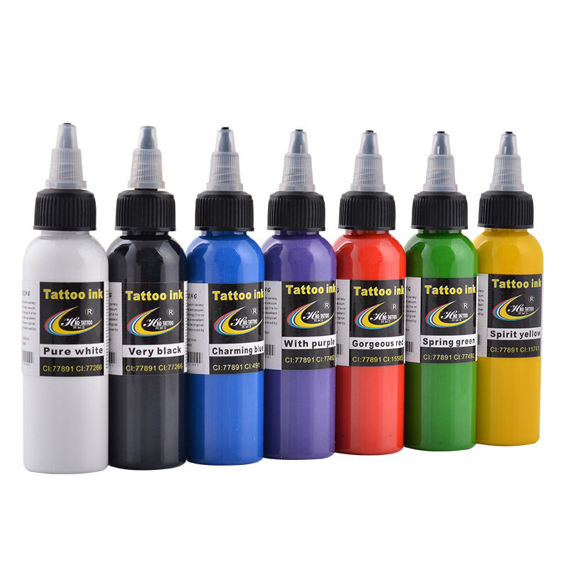 Top Pigment Tattoo Ink Supply 2OZ 60ml/bottle For Body