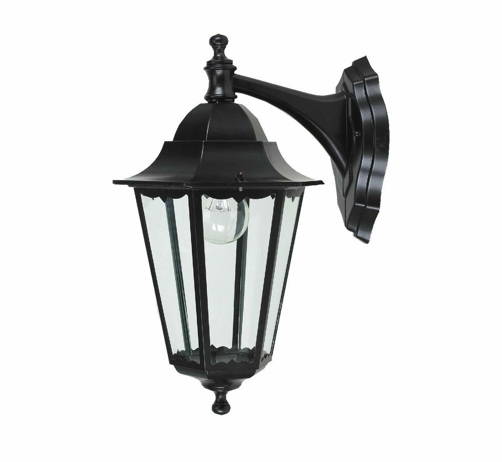 New Victorian Outdoor Outside Lighting Down Garden Wall