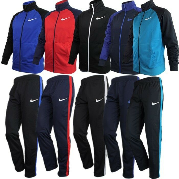 e461f2f931ae Details about Nike RAGLAN WARM UP men s tracksuit red blue black turquoise  NEW