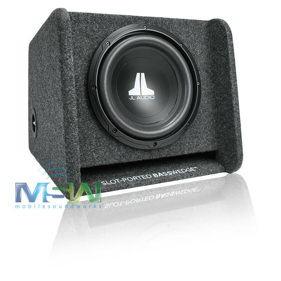 jl audio cp110 w0v3 10 ported sub enclosure box loaded w. Black Bedroom Furniture Sets. Home Design Ideas
