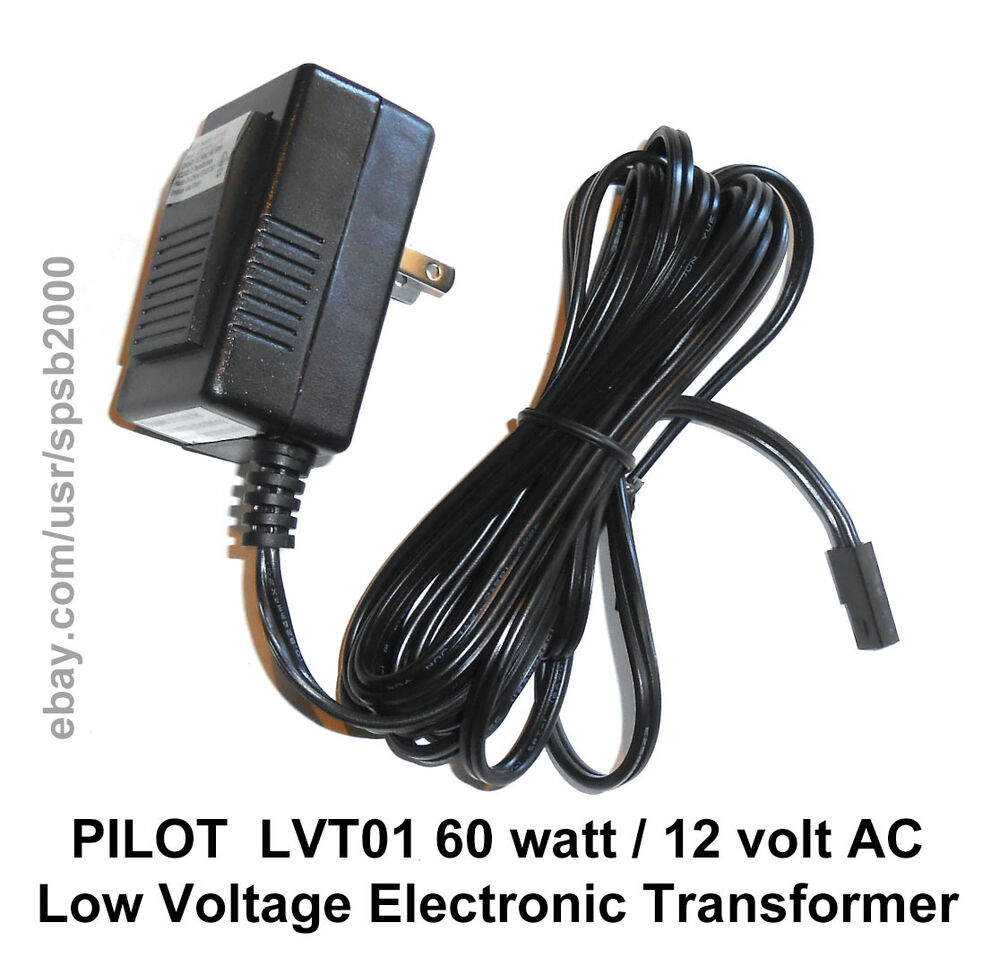 Mr16 Led Transformer Bunnings: 60watt 12volt Plug-In TRANSFORMER 60w 120v-12v AC Low