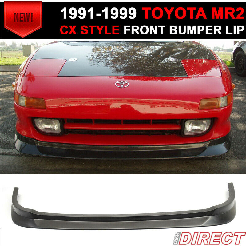 Toyota Celica 1994 1999 Invader Front Bumper: 91-99 Toyota Mr2 Coupe 2 Door Cx Style Front Bumper Lip