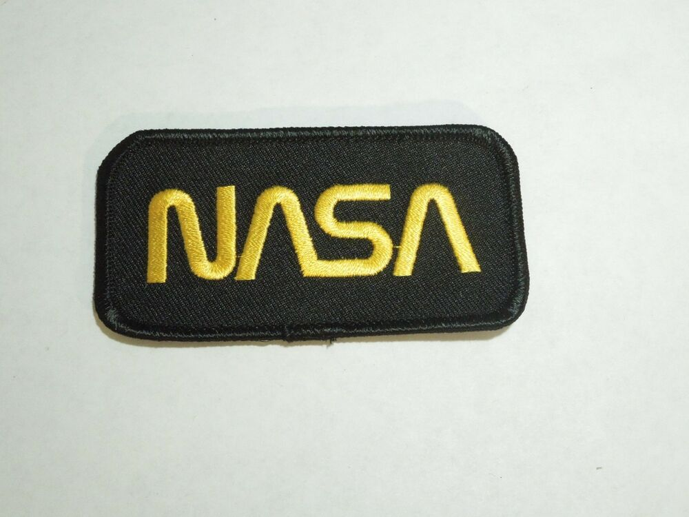 NASA Space Program Official Emblem Embroidered Iron On ...