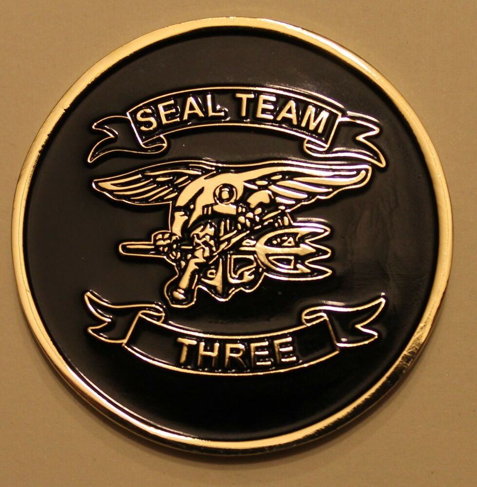 Naval Special Warfare Seal Team 3 Serial 511 Navy Chiefs