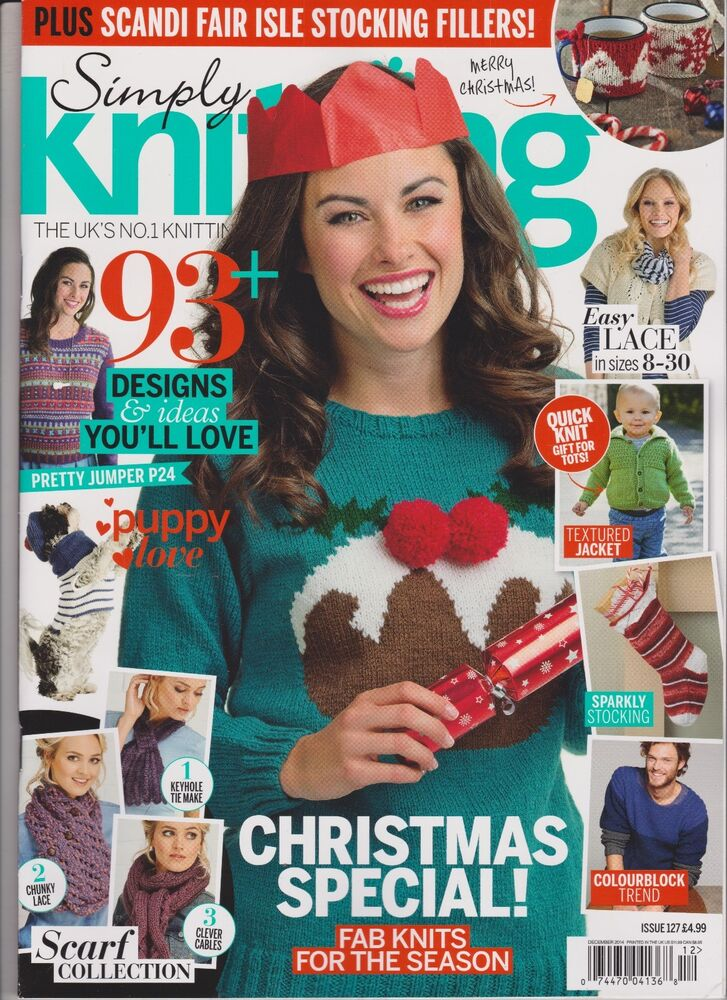 Knitting Magazines List : Simply knitting magazine december only