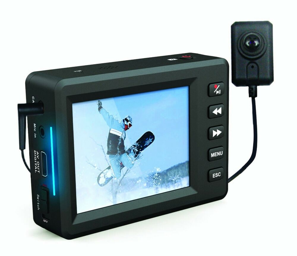 portable 420 tvl micro dvr colour spy camera with 2 5 tft lcd screen ebay. Black Bedroom Furniture Sets. Home Design Ideas