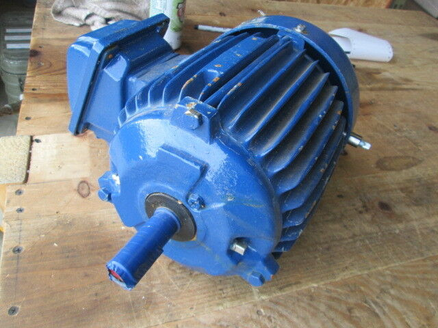 New Teco Westinghouse Electric Motor No Data Tag 7 8