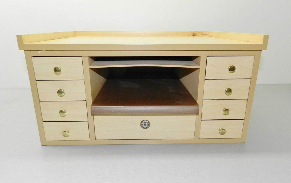 Jewelers Work Bench Table Top Jewelry Repair Watch Hobby Craft Bead Workbench Ebay