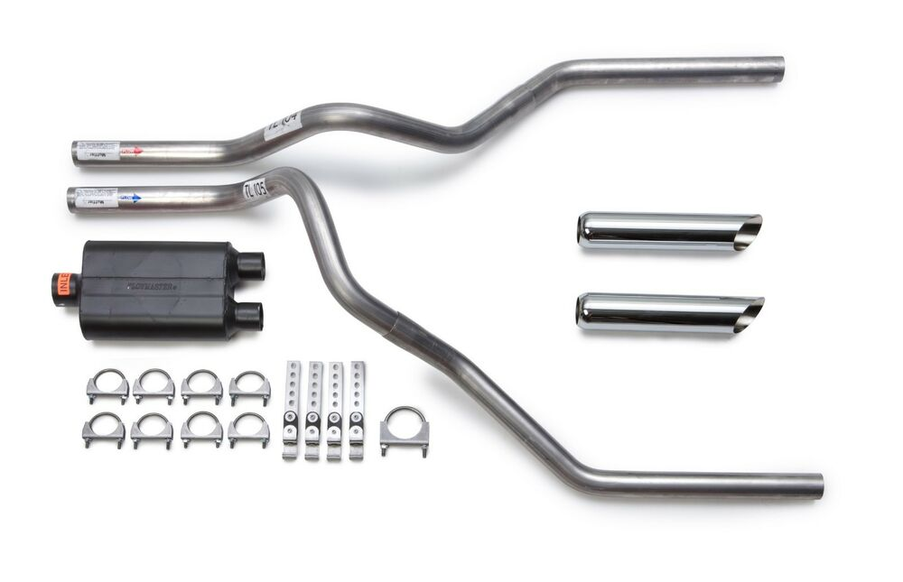 Ford F150 F250 2005 2014 Dual Exhaust Flowmaster Super 10