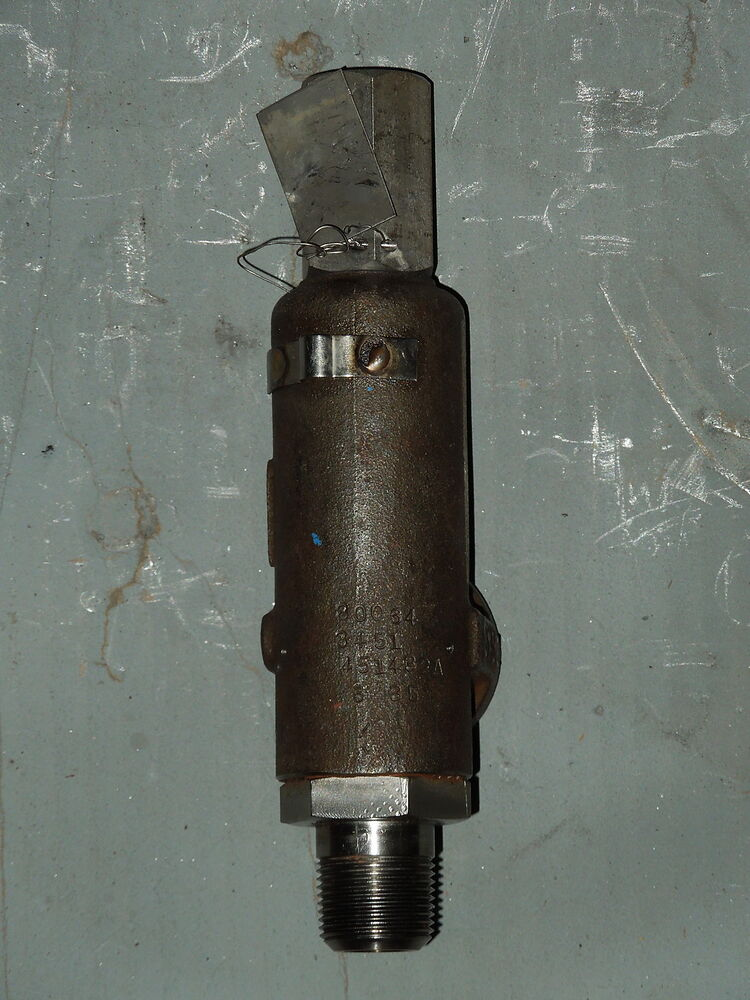 3 4 X 1 Quot 1543j Consolidated Stainless Safety Relief Valve