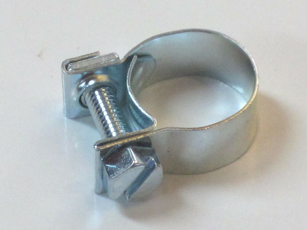 Oil line clip clamp miniature hose tube to