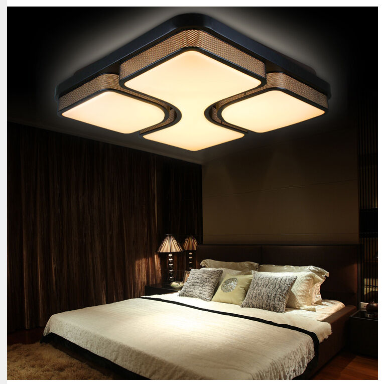 30w 48w 96w voll dimmbar 24w led deckenleuchte design wohnzimmer lampe tx8908h ebay. Black Bedroom Furniture Sets. Home Design Ideas