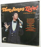 TOM JONES live at the Talk of the Town SEALED LP