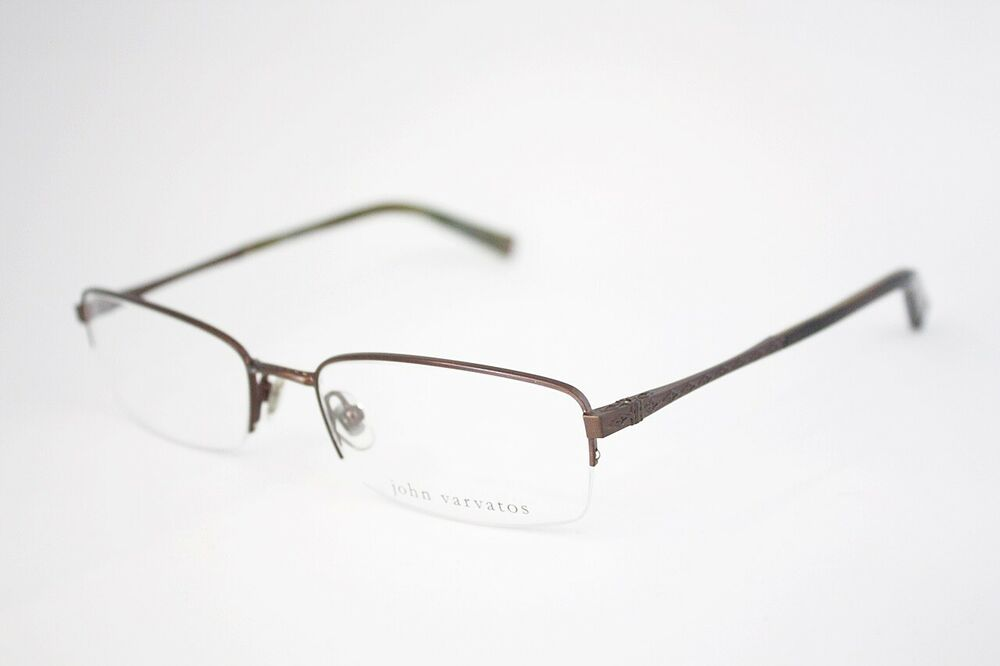 Eyeglass Frames Made In Japan : JOHN VARVATOS V122 eyeglasses frame (MADE IN JAPAN ...