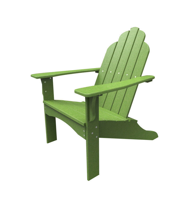 malibu outdoor living yarmouth adirondack chair polywood plastic ebay. Black Bedroom Furniture Sets. Home Design Ideas