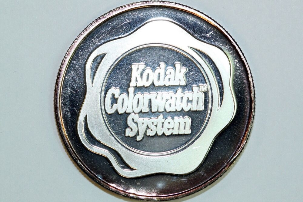 For Sale Is One Kodak Colorwatch System One Ounce Silver