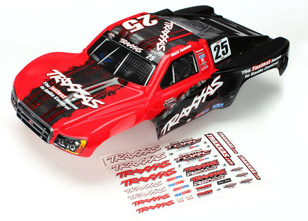 Traxxas 6825X Mark Jenkings #25 Painted Body For Slash 4x4