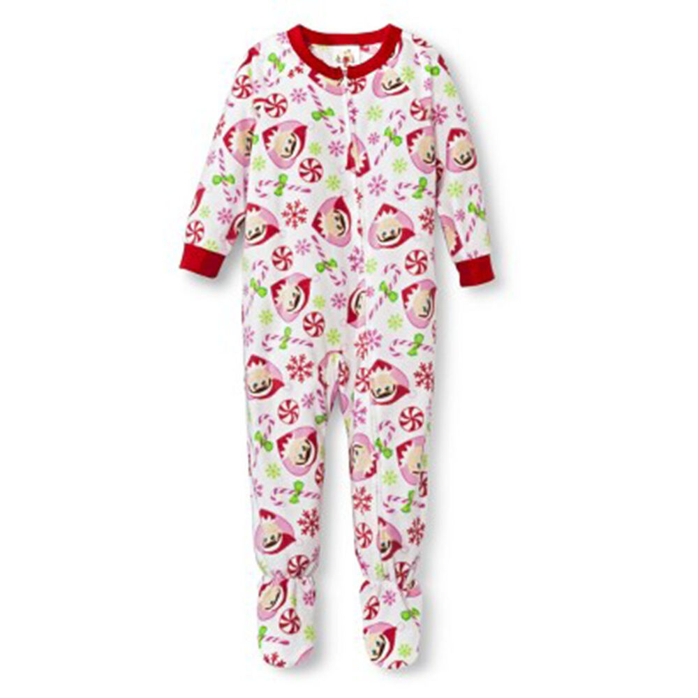 new girls elf on the shelf pajamas sleepwear set size 4t. Black Bedroom Furniture Sets. Home Design Ideas