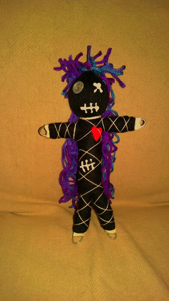 Authentic Voodoo Doll Black Beauty real 7 pins guide new ...