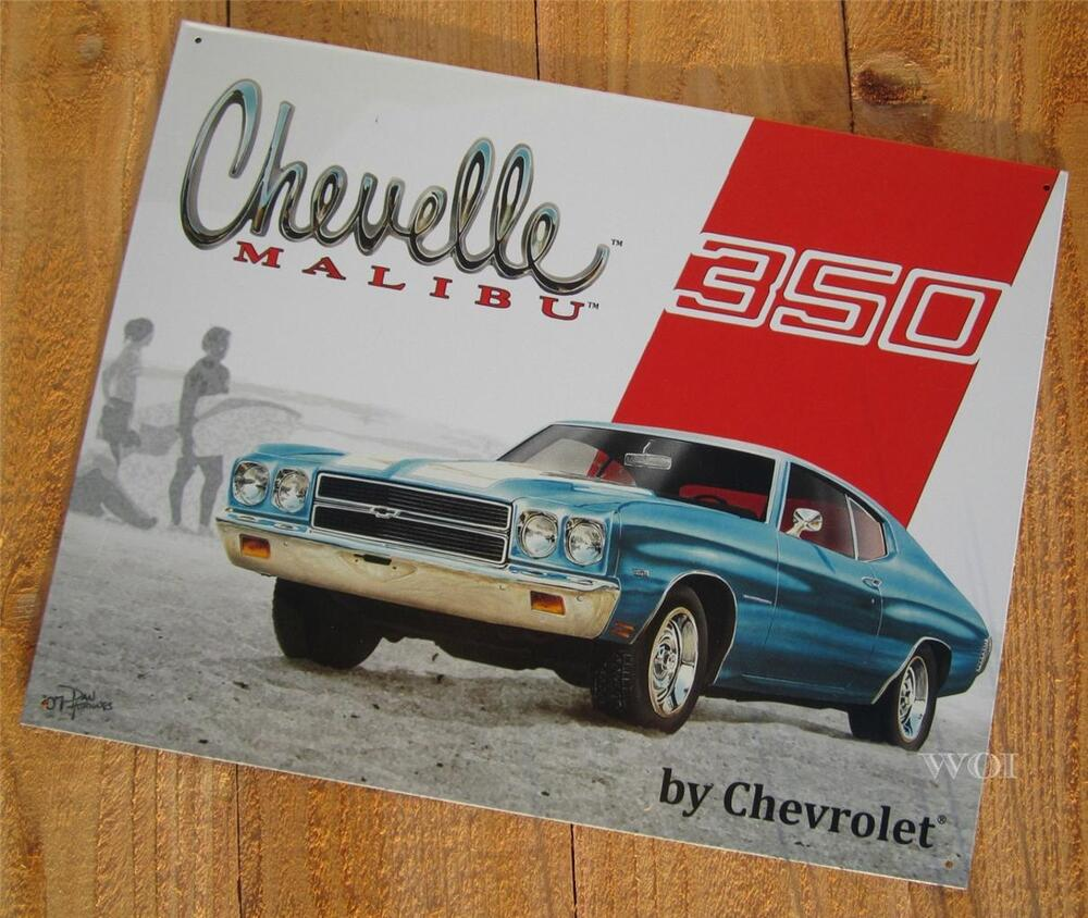 Classic Car Signs : Chevrolet chevelle malibu chevy classic muscle car
