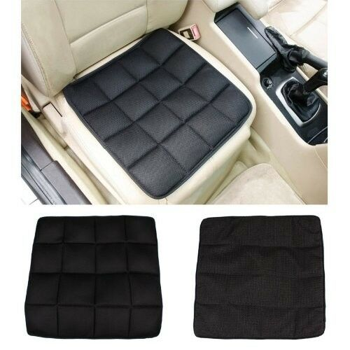 comfort car seat cushion charcoal breathable therapy foam pad auto office chair ebay. Black Bedroom Furniture Sets. Home Design Ideas