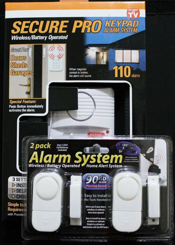 Home Alarm System Wireless Battery Operated Alarm Value