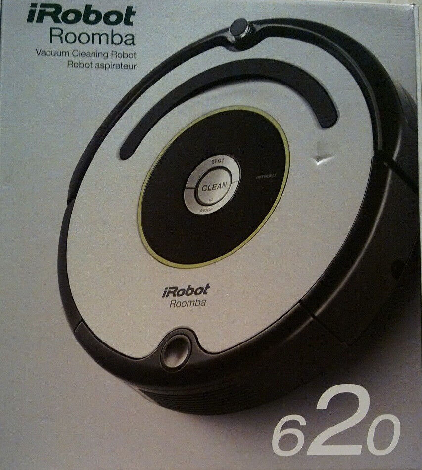 brand new in box irobot roomba 620 robotic vacuum cleaner ebay. Black Bedroom Furniture Sets. Home Design Ideas