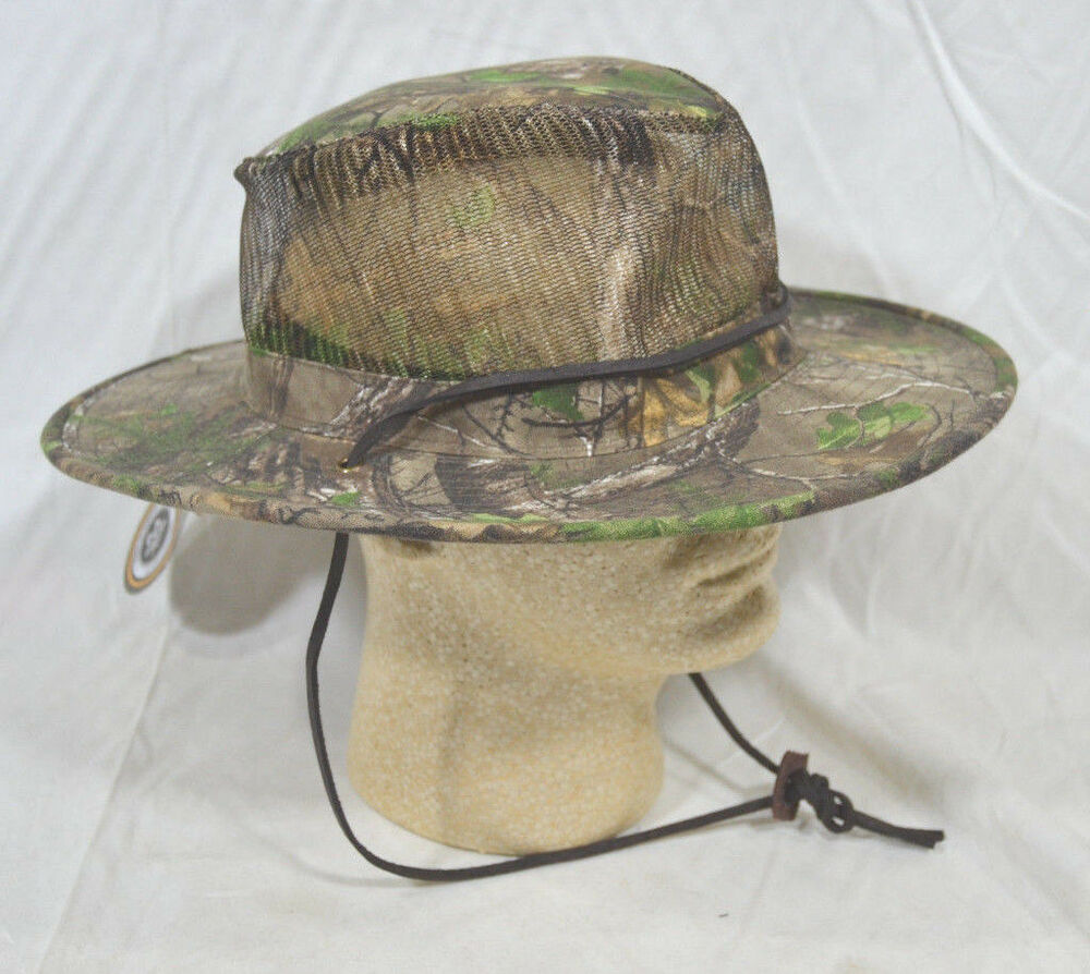 Outdoor realtree xtra camo boonie brim hat summer fishing for Fishing boonie hat