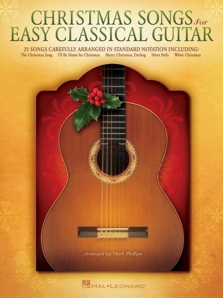 Simple Book Cover Guitar : Christmas songs for easy classical guitar sheet music