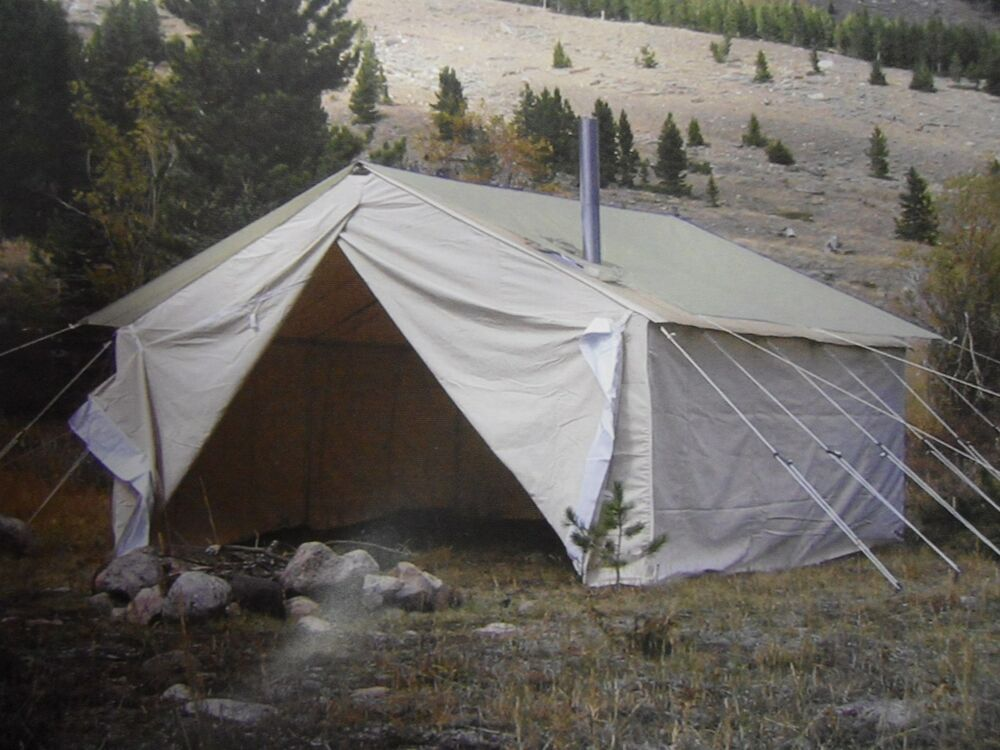 10 X12 X5 Big Horn Wall Tent Tent Frame And Angles Ebay