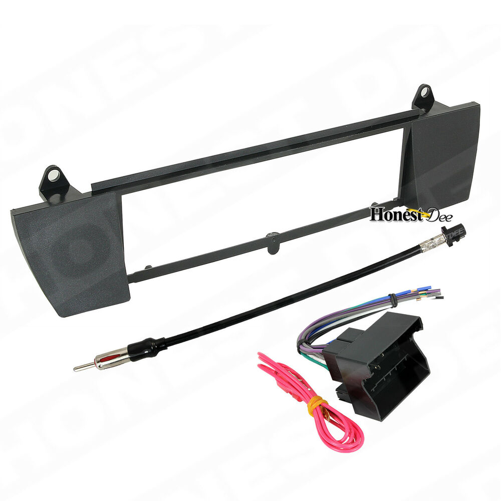 Bmw Z4 Car Stereo Single Din Radio Mount Install Dash Kit