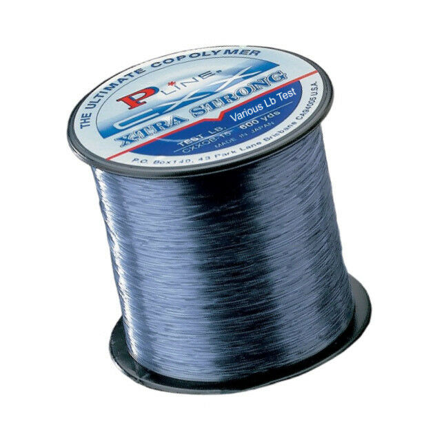 P line cxx smoke blue x tra strong fishing line 370 600 for Pline fishing line