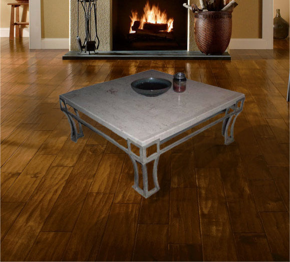 elegant marble coffee table and end table living room