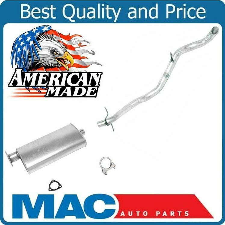 Details About 95 99 Chevy S10 Blazer Gmc Jimmy 2 Dr Ler Exhaust W Clamps Gasket