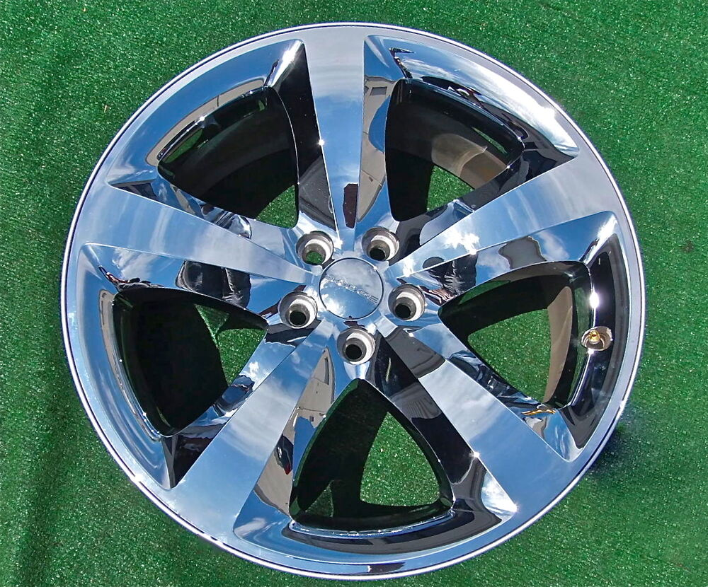 perfect oem factory dodge challenger charger chrome 20 inch wheel cap 2411 2424 ebay. Black Bedroom Furniture Sets. Home Design Ideas