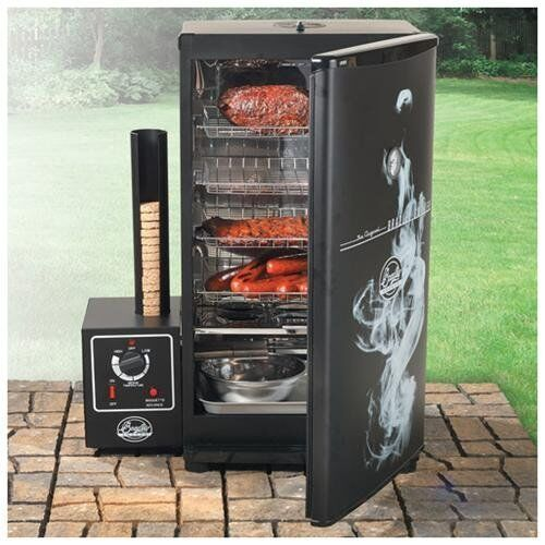 New Bradley Bs611 Original Barbeque 4 Rack Electric