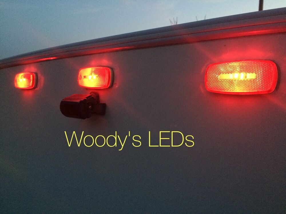 Led Bulb Upgrade For Front And Rear Marker Running Lights