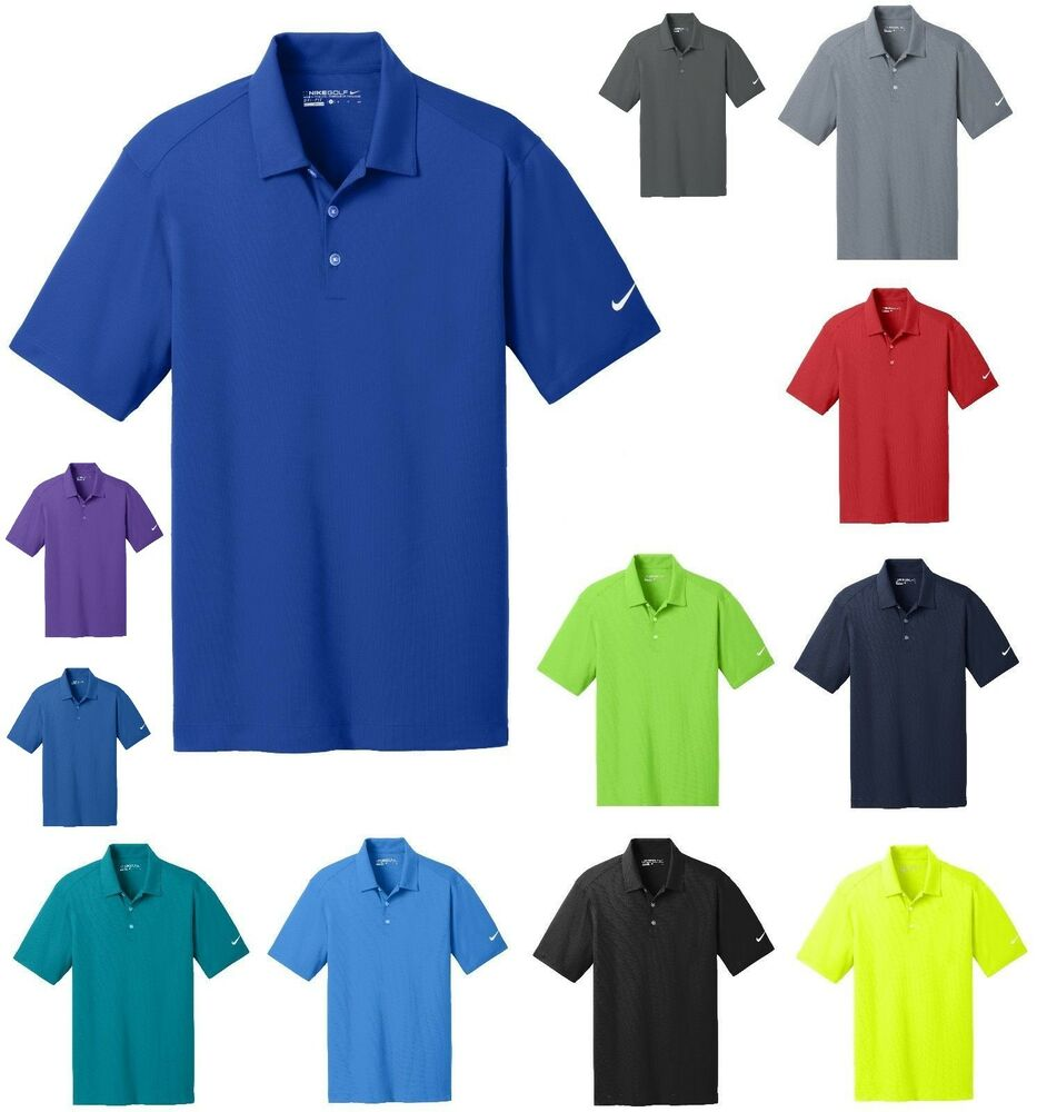 Men 39 s dri fit moisture wicking polo shirt golf sport for Mens xs golf shirts